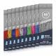 0255 Blue Sports Titanium Pro Bunt